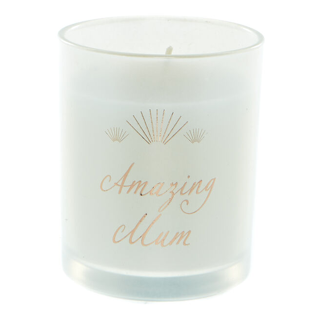 Amazing Mum Vanilla Scented Candle