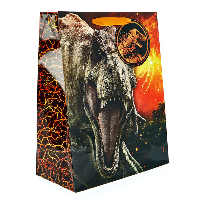 Medium Portrait Jurassic World Gift Bag