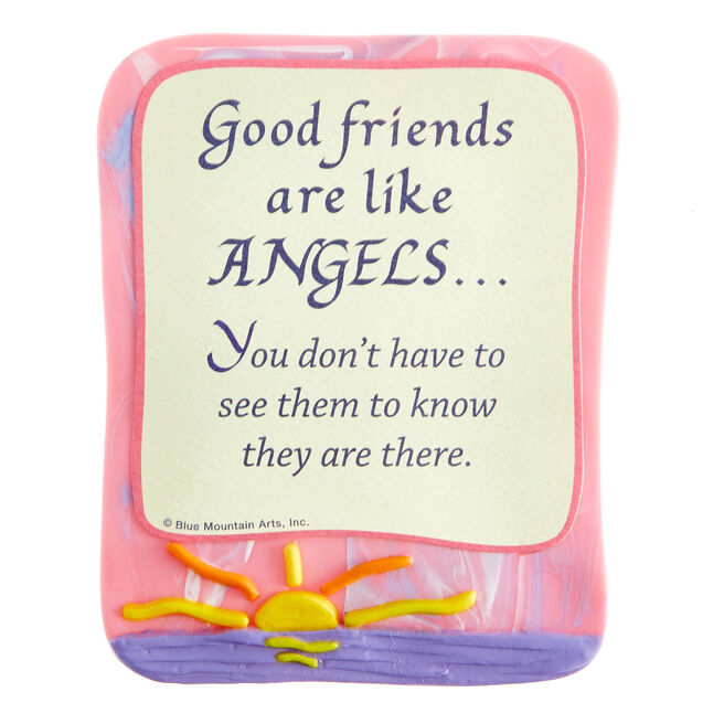 Blue Mountain Arts Magnet - Good Friends Are Like Angels
