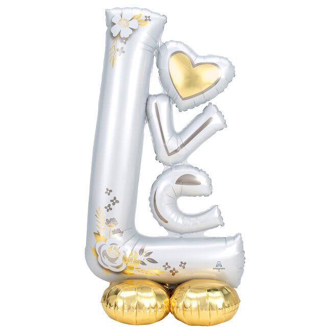 "Large 58 Airloonz ""Love"""" Wedding Balloon """