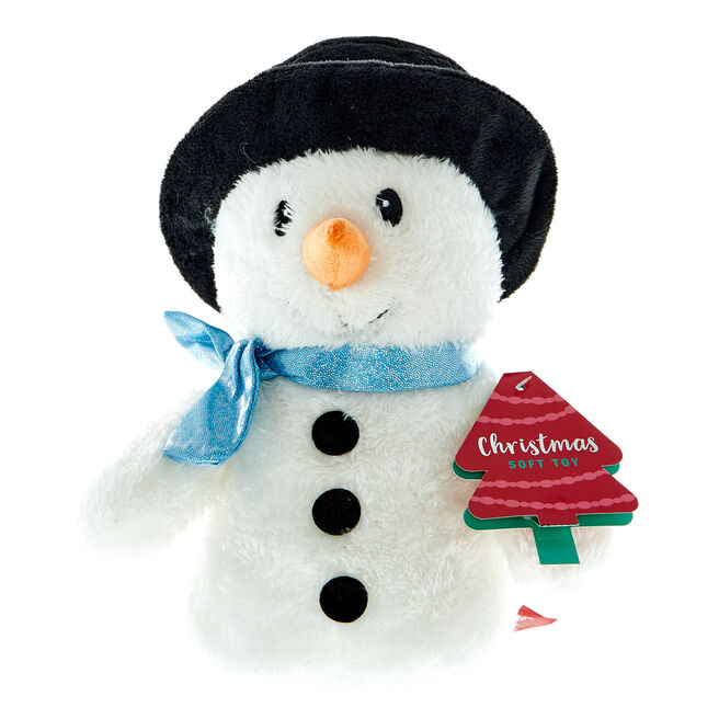 Snowman Christmas Soft Toy
