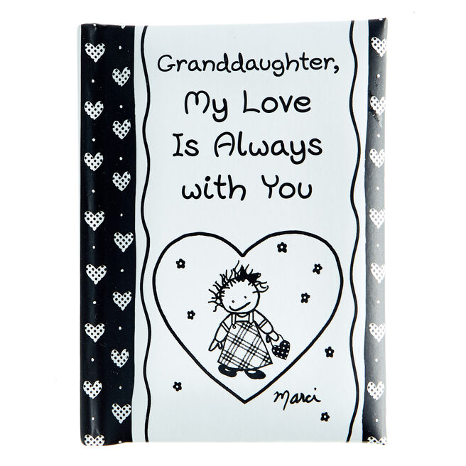 Blue Mountain Arts Keepsake Book - Grandaughter, My Love