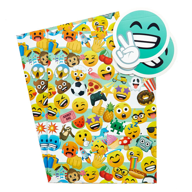 Joypixels Wrapping Paper & Gift Tags - Pack Of 2
