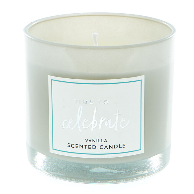 Time To Celebrate Vanilla Scented Candle