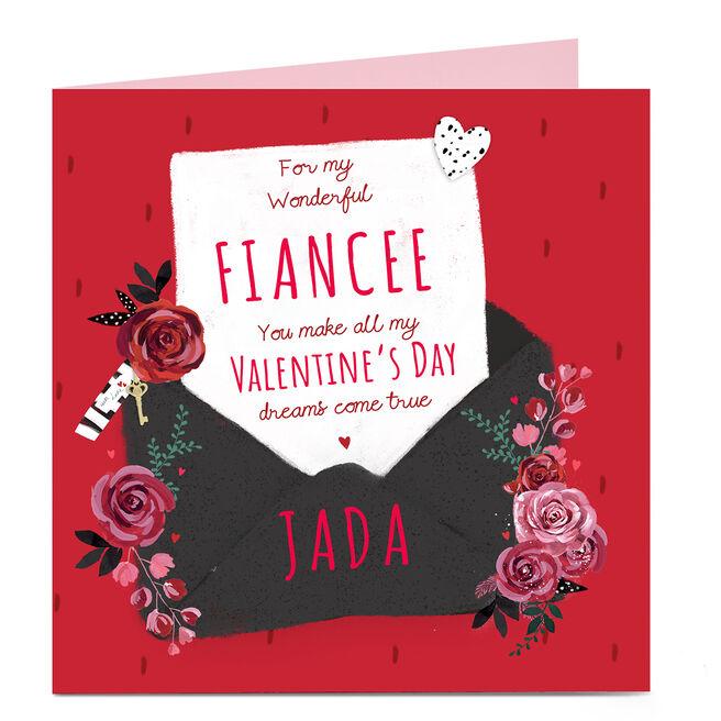 Personalised Valentine's Day Card - Dreams Come True