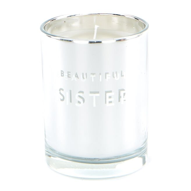 Beautiful Sister Vanilla Scented Candle