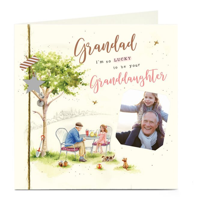 Photo Father's Day Card - Grandad From Granddaughter