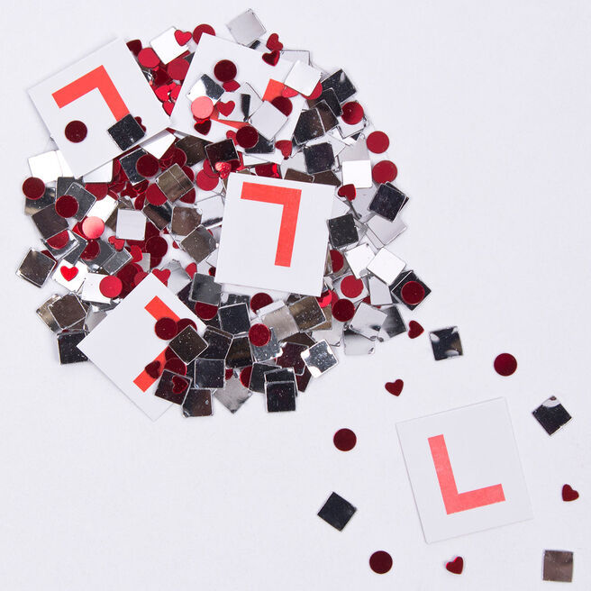 Assorted Hen Party Foil Table Confetti
