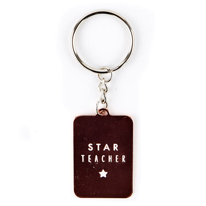 Star Teacher Key Ring