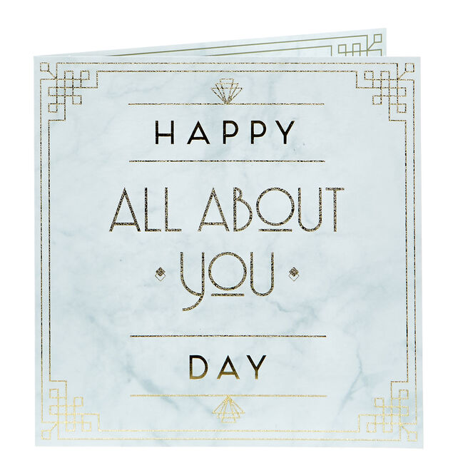 Mother's Day Charity Card - Happy All About You Day