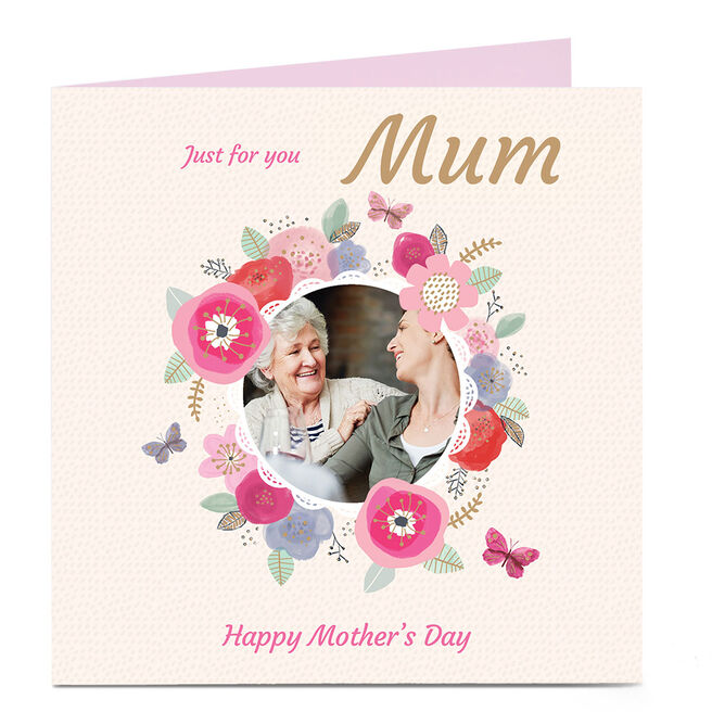 Photo Mother's Day Charity Card - Just For You