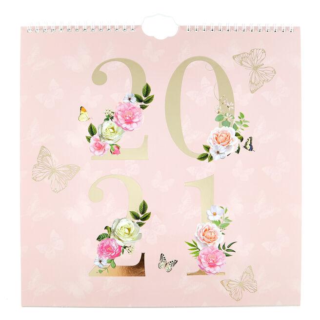Pastel Floral 2021 Organiser
