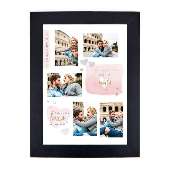 Personalised Photo Print - Special Memories, 5 Photos