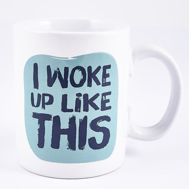 I Woke Up Like This'Large Mug