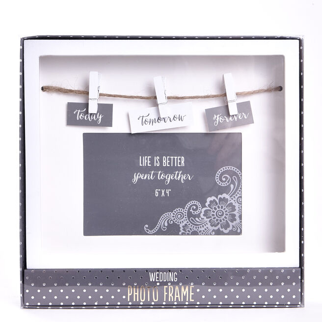 Today Tomorrow Forever Box Photo Frame