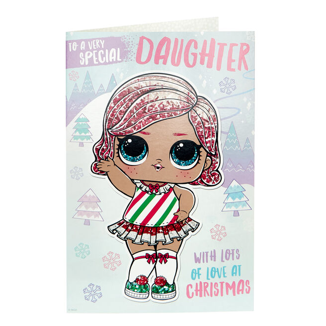 L.O.L. Surprise! Christmas Card - Special Daughter