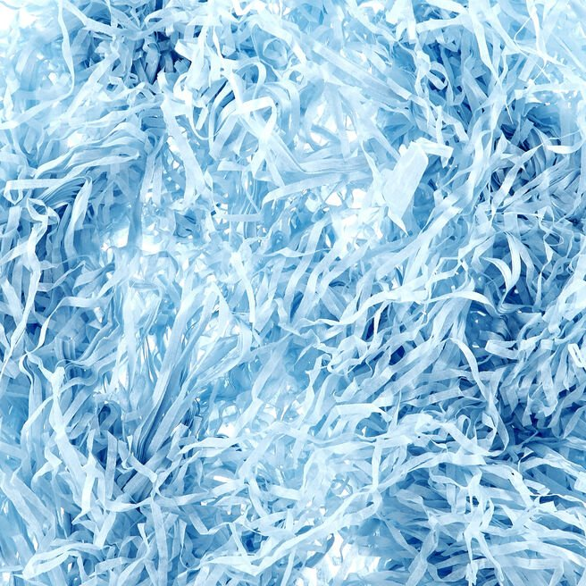 Light Blue Shredded Tissue Paper