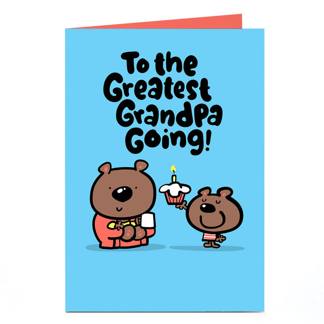 Personalised Fruitloops Father's Day Card - Greatest Grandpa Going