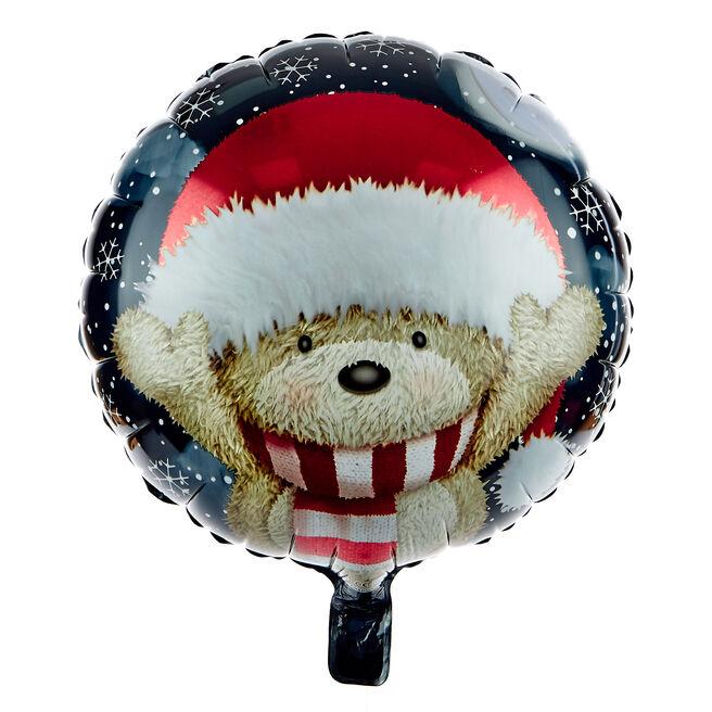 Hugs Bear Christmas 18-Inch Foil Helium Balloon