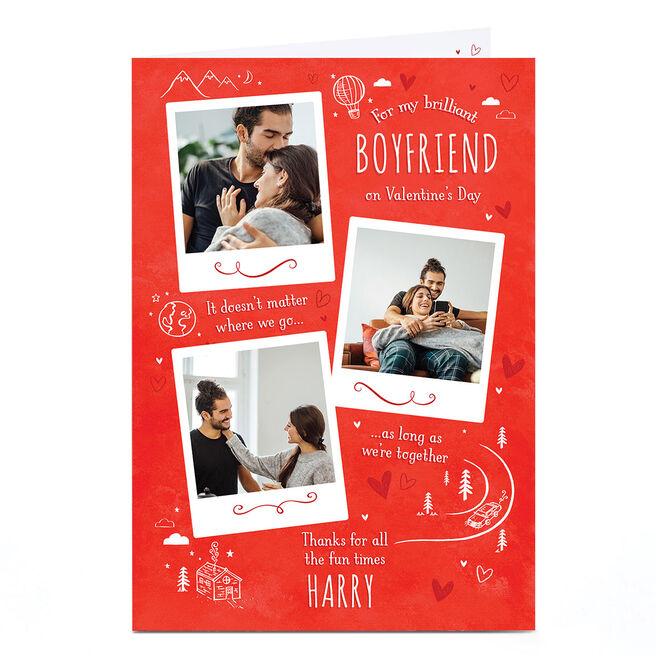 Photo Valentine's Day Card - Brilliant Polaroids