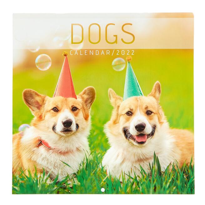Square 2022 Dog Calendar