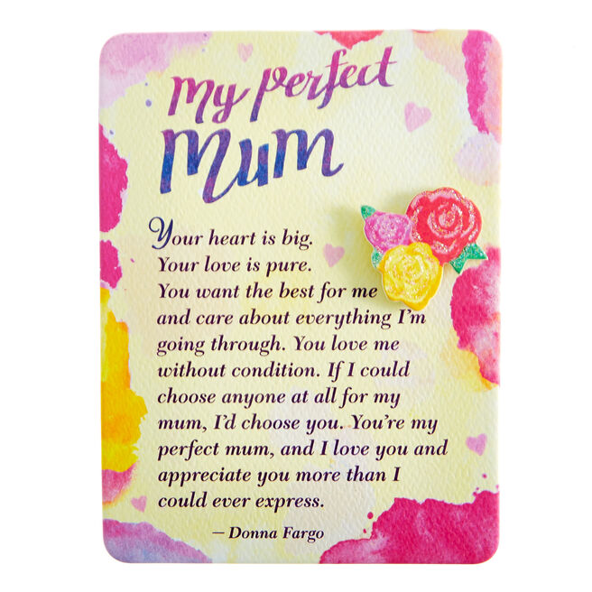 Blue Mountain Arts Magnet With Stand - My Perfect Mum