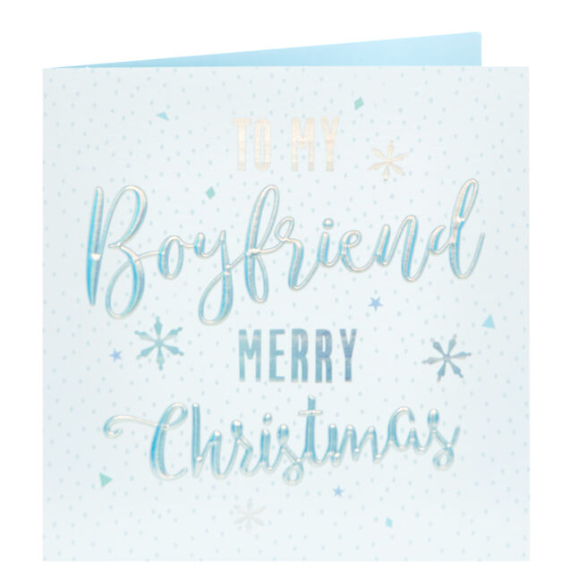 Christmas Card - To My Boyfriend