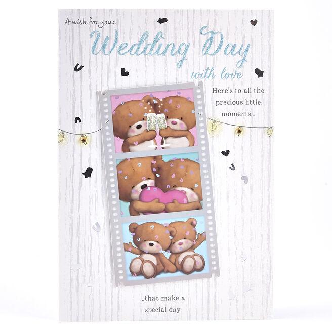 Wedding Card - Hugs Film Strip
