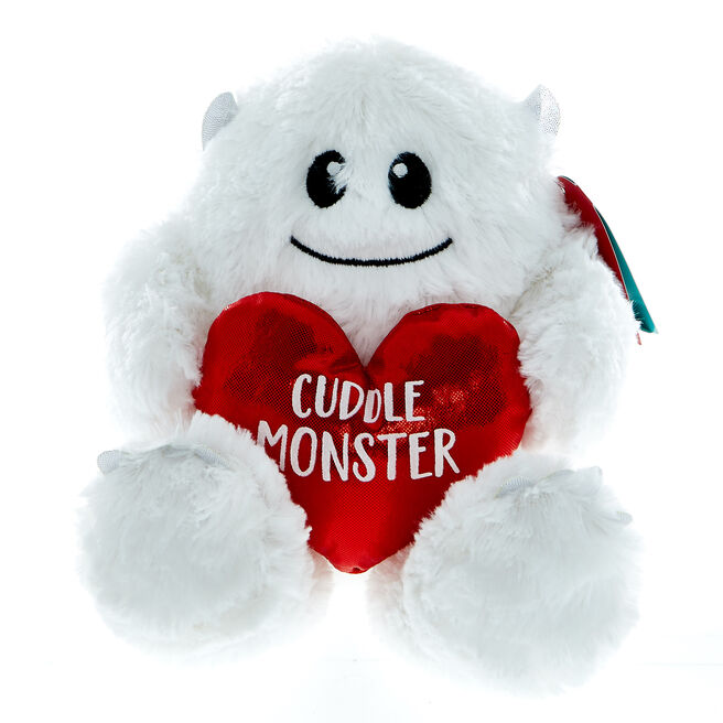 Cuddle Monster Yeti Soft Toy