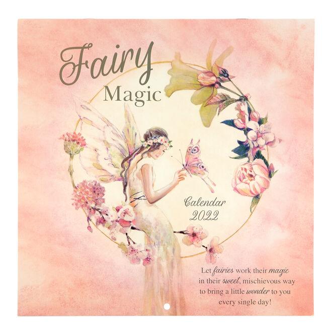 Square 2022 Fairy Magic Calendar