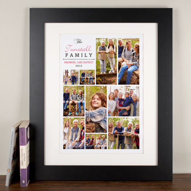 Photo Upload Family Event Print