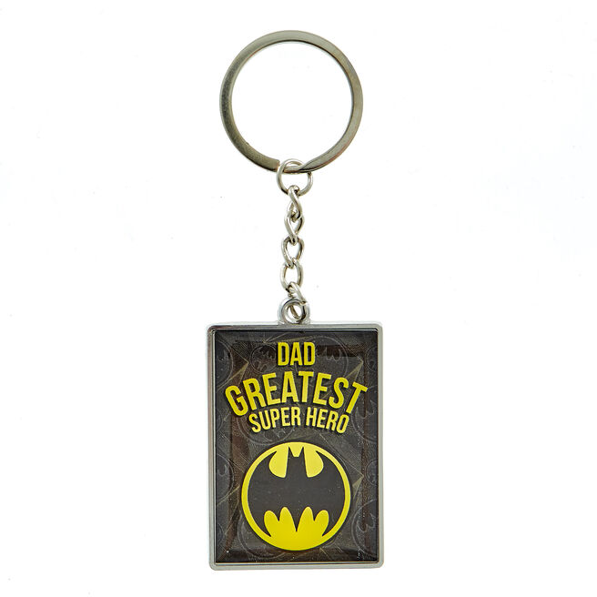 Batman Dad Superhero Keyring