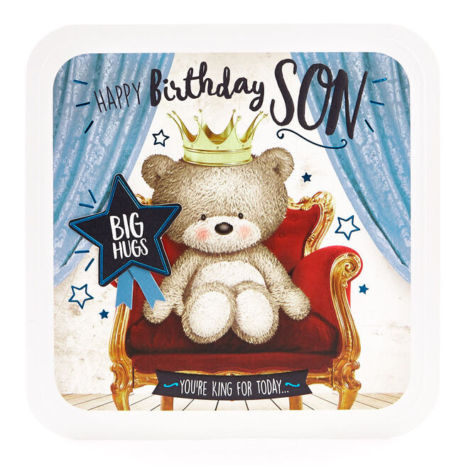 Exquisite Collection Birthday Card - Son Big Hugs
