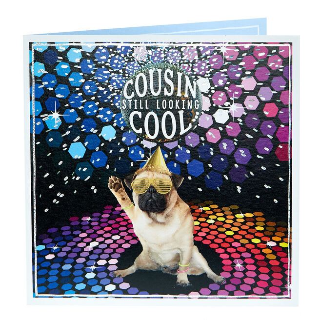 Birthday Card - Looking Cool Cousin