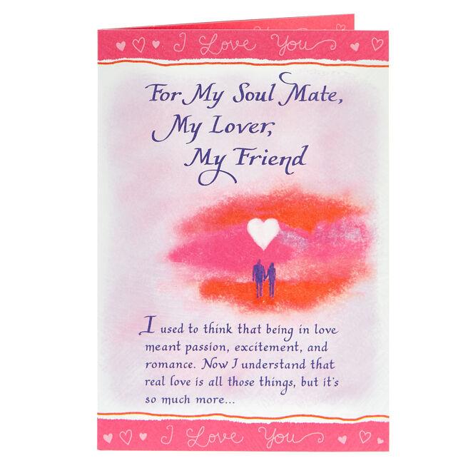 Blue Mountain Arts Card - Soul Mate, Lover, Friend