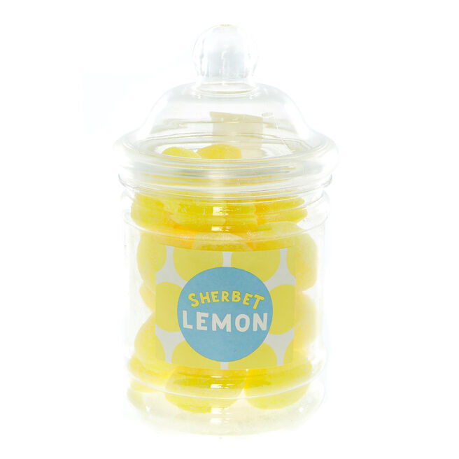 Sherbet Lemon Boiled Sweets In A Jar