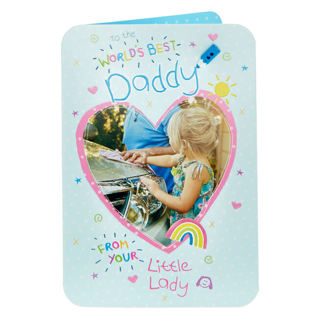 Birthday Card - Daddy From Your Little Lady