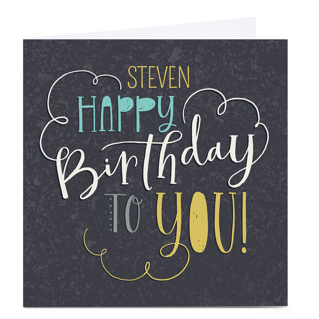 Personalised Nikki Whiston Birthday Card - Birthday Print
