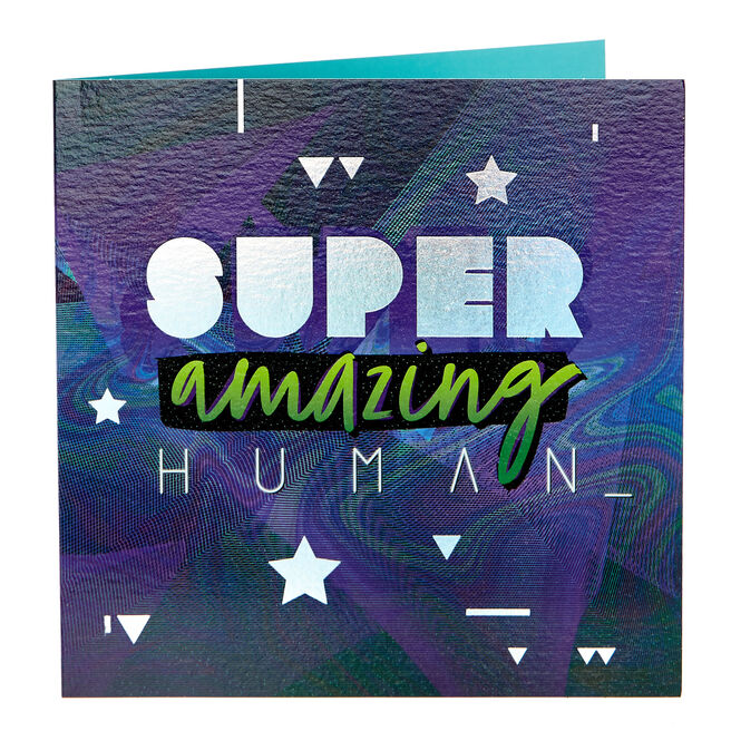 Any Occasion Card - Super Amazing Human