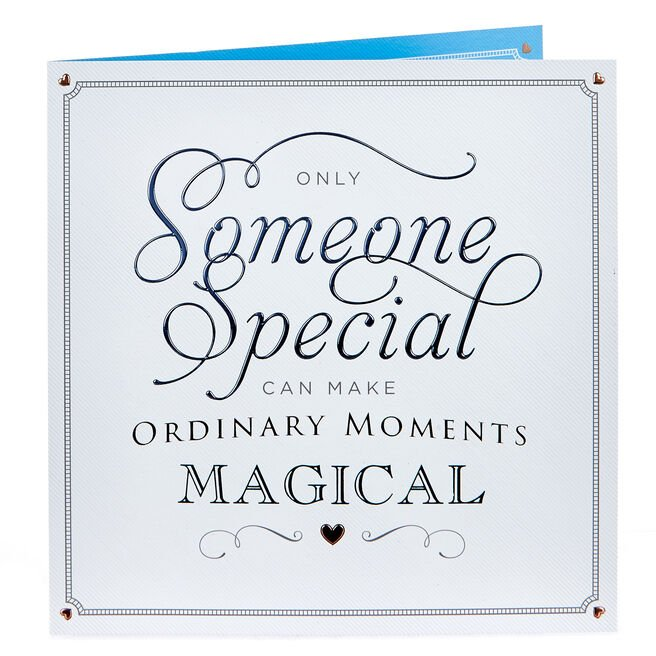Platinum Collection Birthday Card - Ordinary Moments