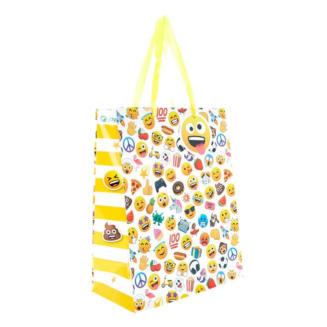 Medium Portrait Gift Bag - Emojis