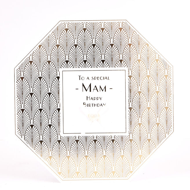 Exquisite Collection Birthday Card - Mam Art Deco