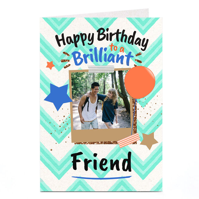 Photo Birthday Card - To A Brilliant...