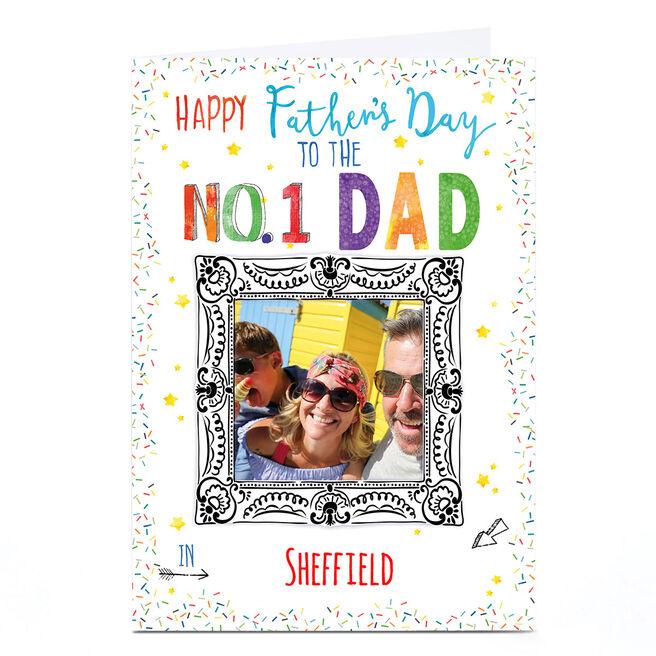 Photo Nik Golesworthy Father's Day Card - No 1 Dad