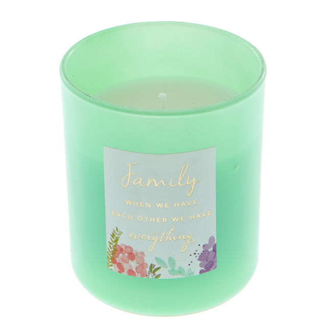 Family Sentiment Candle