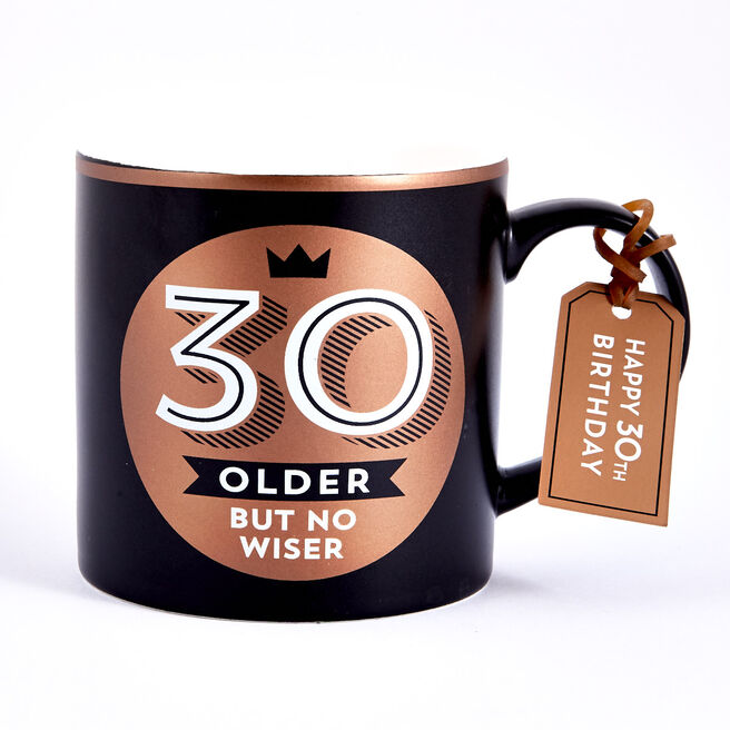 30th Birthday Mug - Older But No Wiser