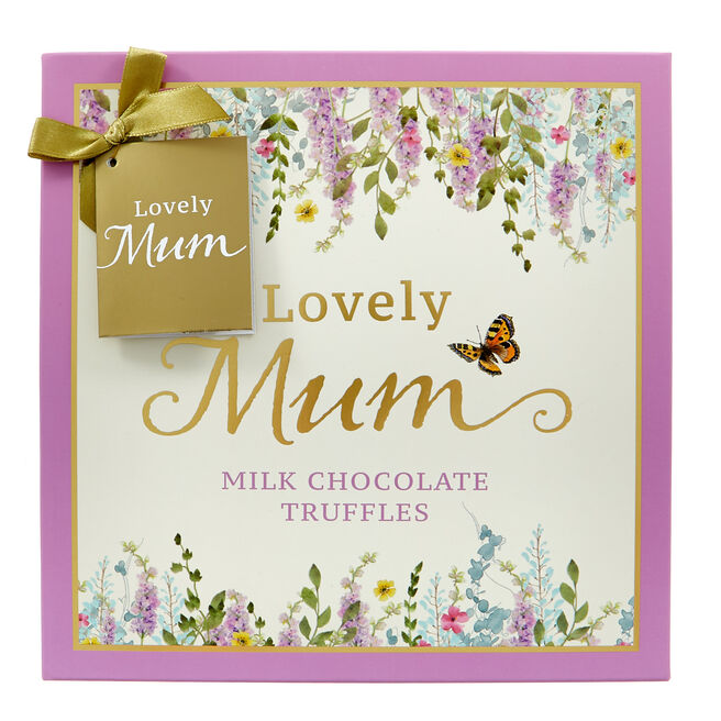 Lovely Mum Milk Chocolate Truffles