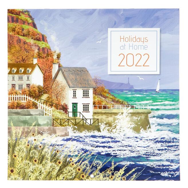 Square 2022 Holidays At Home Calendar