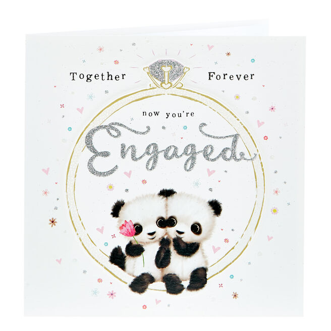 Exquisite Collection Engagement Card - Together Forever