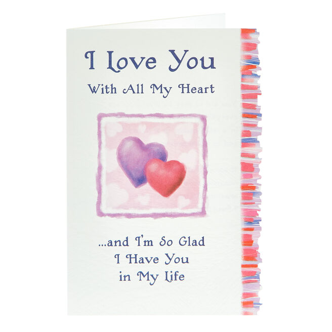 Blue Mountain Arts Card - Love You With All My Heart